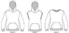 """Sizes US 2-16 and Euro 32-46 Model size 5'6"""" 172 cm Hope Sweatshirt hoodie PDF sewing pattern is a super comfortable, flattering and cool hooded sweatshirt. The design can be made in numerous variatio"""