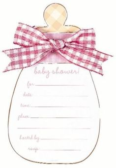 homemade baby shower invitations | homemade baby shower invitations BABYSHOWER INVITATIONS cards to make ...