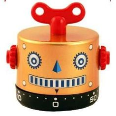 vintage kitchen  timers | Super cute retro timer would be a great tool to help kids learn the ...
