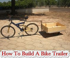 **DIY** How To Build A Bike Trailer