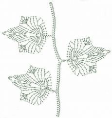 Best 10 Simple Branch Irish crochet pattern / tutorial with step-by-step pictures, written instructions and charts. Filet Crochet, Marque-pages Au Crochet, Freeform Crochet, Crochet Diagram, Crochet Chart, Thread Crochet, Crochet Leaf Patterns, Crochet Leaves, Crochet Designs