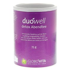 DUOWELL Detox Abendtee 75 Gramm