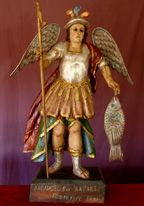 Spanish Colonial and Mexican Antiques such as Santos, Retablos, Ex Votos, and Mexican Folk Art.