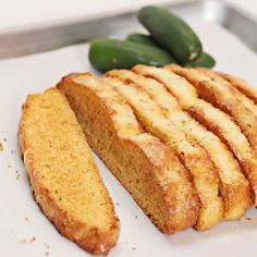 These could be easily made gluten free! Gonna try them ... could also be made into a type of crouton maybe? Jalapeno Pepper Jack Cornbread Biscotti pairs perfectly with a hot bowl of chili.