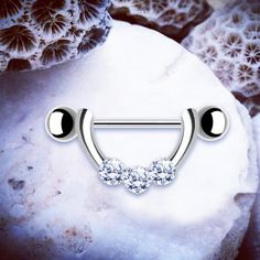www.throwbackannie.com Sparkle like the true diamond you are in this stunning hand nipple shield! We have nipple jewellery to die for here at TBA! So go give your nipple piercing that instant lift and rock it like RIHANNA in this little beaut nipple ring!