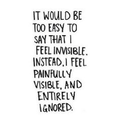 Can't say I feel this way, but I love this quote! ...as depressing as it is..