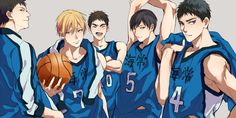 Kuroko no Basuke (Kuroko's Basketball) Image - Zerochan Anime Image Board Kise Ryouta, Kuroko Tetsuya, Desenhos Love, Kuroko's Basketball, Anime Crossover, No Basket, Disney Cartoons, Haikyuu, Manga Anime