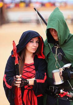 Maid Marian & Robin Hood