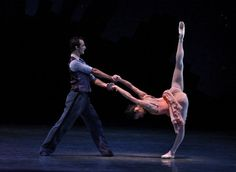 Patricia Delgado in George Balanchine's Who cares?