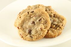 Pecan Chocolate Chip Cookie Recipe with Nutrition Facts!