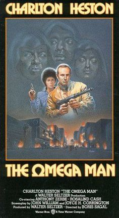 The Omega Man (stylized as The Ωmega Man) is a 1971 American science fiction film directed by Boris Sagal and starring Charlton Heston. It was written by John William Corrington and Joyce Corrington, based on the 1954 novel I Am Legend by the American writer Richard Matheson
