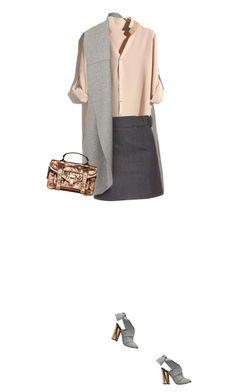 """Proenza Schouler Copper Bag"" by yasminasdream ❤ liked on Polyvore featuring Balenciaga"