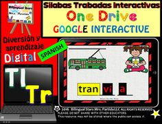 Slabas Trabadas Tr-Tl Forma Palabras Google Classroom & Google Drive  /  Consonant Clusters Word Work in SpanishDigital Notebook for the PowerPoint Application and/or One Drive in the iPad, and/or Google Slides/Google Classroom(iPad and computer) Go paperless!Thank you for purchasing Slabas Trabadas Tr-Tl Forma Palabras Word Work Google Drive Edition.