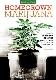 "Read ""Homegrown Marijuana Create a Hydroponic Growing System in Your Own Home"" by Joshua Sheets available from Rakuten Kobo. Is growing marijuana permitted where you live? A hydroponic system is your homegrown solution. With marijuana laws chang. Growing Weed, Cannabis Growing, Hydroponic Growing, Hydroponic Gardening, Indoor Aquaponics, Hydroponics System, Aquaponics System, Hydroponic Grow Systems, Planta Cannabis"