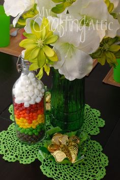 Cheap DIY St. Patrick's Day decorations!