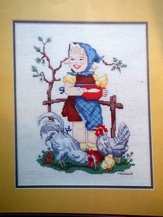 Hummel Designs In Counted Cross Stitch Vintage by NeedANeedle, $5.75