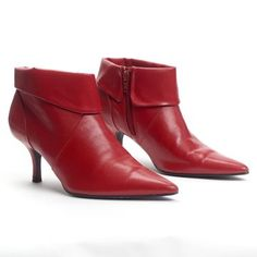 Red Booties, $79, now featured on Fab.