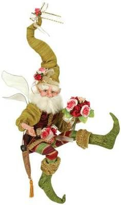 Rose Garden Fairy by Mark Roberts. Pink Christmas, Christmas Holidays, Christmas Crafts, Christmas Decorations, Christmas Ornaments, Christmas Ideas, Xmas, Mark Roberts Elves, Mark Roberts Fairies
