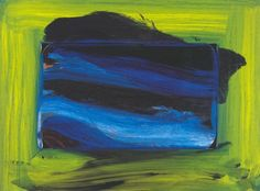 """Chris Rea - Which Part Of The Painting Made You Cry? (Howard Hodgkin Artwork) from """"The Return of the Fabulous Hofner Bluenotes"""" Album. Abstract Expressionism, Abstract Art, Howard Hodgkin, Modern Art, Contemporary Art, Paintings I Love, Sculpture, Painting Inspiration, New Art"""