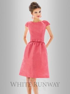 a6e9a9f05da Dessy Claire Dress Cocktail Length Dress