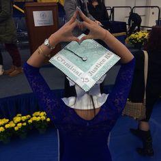 Criminal justice Tiffany and co graduation cap