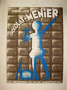 Henchoz Chocolat-Menier 1933