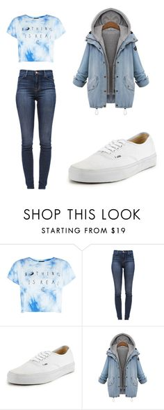 """with him"" by escarletmix14 on Polyvore featuring Belleza, J Brand y Vans"