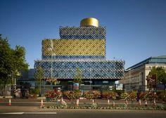 Library of Birmingham, Library of Birmingham Mecanoo, Mecanoo - http://architectism.com/library-birmingham-mecanoo/