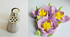 Tips for cream tulips. Work with number 9 and 7B. http://ibaketoday.blogspot.com