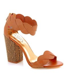 Take a look at this Tan Remola Sandal by Ted Baker on #zulily today!