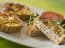 Recette - Quiche thon, pommes de terre, gruyère, oignon | Notée 4.1/5