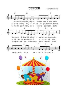 Sheet Music Art, Preschool, Carnival Crafts, Sheet Music, Carnavals, Nursery Rhymes, Kindergarten, Kindergartens, Pre K