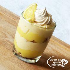 Recette de cuisine : Tiramisu façon tarte au citron meringuée sur qu-est-ce-qu-on-mange.com