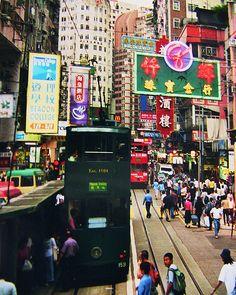 China - Hongkong , Tramways