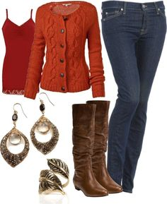 """Casual Autumn"" by stay-at-home-mom on Polyvore"