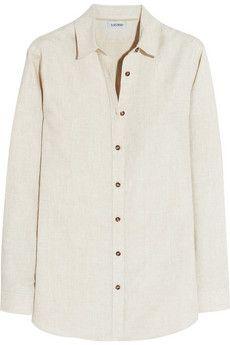 Totême Montauk linen shirt   THE OUTNET
