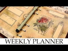 MY BULLET JOURNAL / WEEKLY PLANNER 2018 - January Weekly Spreads - YouTube