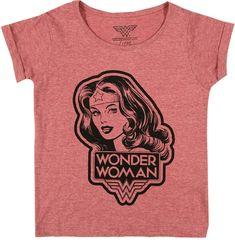 LITTLE ELEVEN PARIS Wonder Woman T-Shirt