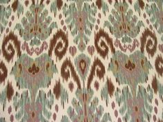 Samarkand Striking Ikat Printed Multipurpose Home Decor Fabric BTY | eBay