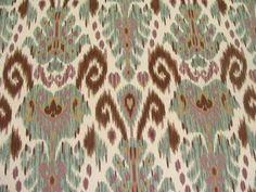 Samarkand Striking Ikat Printed Multipurpose Home Decor Fabric BTY   eBay