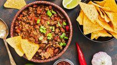 Leftover roast pork and gravy + black beans, red bell pepper & onion = easy rollover meal.