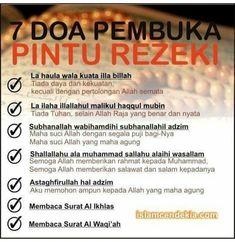 Doa Pembuka Pintu Rezeki Islamic Love Quotes, Islamic Inspirational Quotes, Muslim Quotes, Motivational Quotes, Hijrah Islam, Doa Islam, Ali Bin Abi Thalib, Pray Quotes, Cinta Quotes