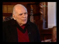 """Interviu- Liviu Ciulei -part1(video) Liviu Ciulei was a Romanian theater and film director, film writer, actor, architect, costume and set designer. During a career spanning over 50 years, he was described by Newsweek as """"one of the boldest and most challenging figures on the international scene"""" Romanian People, Film Writer, City People, Biologist, Film Director, Cinema, Actors, Celebrities, Beauty"""