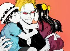 One Piece/Doflamingo,Law,Baby5