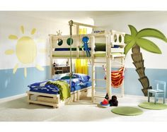 Children's furniture for each age and gender. WWW.WOODLAND.FR