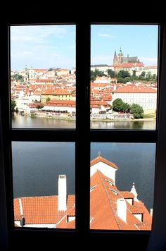 Wake up to this view while staying at Four Seasons Hotel Prague and the city of Hundred Spires. Breathtaking!