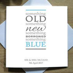 Personalised-Handmade-Something-Blue-Card-Wedding-Day-Congratulation