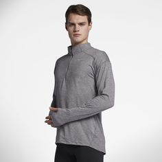 c1ebebfa4d4c Nike Dri-FIT Element Men s Long Sleeve Half-Zip Running Top Size 2XL (Grey)