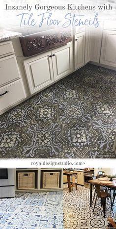 370 best stenciled painted floors images in 2019 stenciled floor rh pinterest com