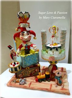 The Brave Tin Soldier - Cake by Mary Ciaramella (Sugar Love & Passion)